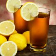 Royalty-Free Stock Photo: Cold lemon tea