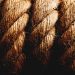 Hemp rope — Stock Photo