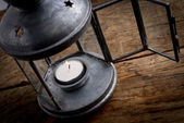 Candle lamp — Stock Photo