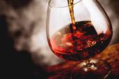 Whisky glass — Stock Photo