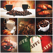 Italian coffee — Stock Photo