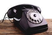 Vintage telephone — Photo