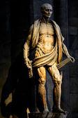MILAN, LOMBARDY, ITALY - APRIL 07 2014: Duomo Milan St. Bartholomew — Stock Photo