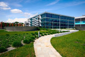 Milano,Italy, april 29 2014: MICROSOFT ITALY corporate headquart — Stock Photo