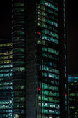 Office building night scene — Stock Photo