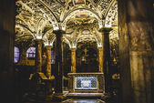 Duomo Milan, interior crypt — Stock Photo