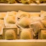Frozen italian pasta tortellini — Stock Photo #49336575