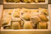 Frozen italian pasta tortellini — Photo