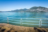Iseo Lake, Brescia, Lombardy, Italy — Stock Photo