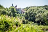 Saint Peter in Lamosa monastery Provaglio Lombardy Italy — Stock Photo