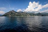 Iseo Lake, Brescia, Lombardy, Italy — Stock Photo