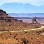 Desert drive — Stock Photo