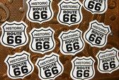 Historic route 66 symbols — Stock Photo