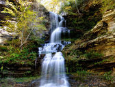 Water falls in West Virginia — Stock Photo