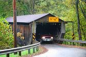 Puente cubierto — Foto de Stock