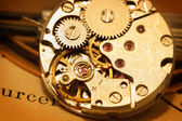 Mechanism of watch — Stock Photo