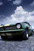 Classic muscle car — Stock Photo