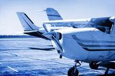 Volo charter — Foto Stock