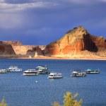 Lake Powell boating — Stock Photo #15466891