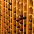 Stockfoto: Wine bottle racks
