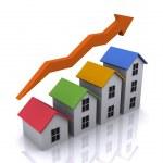 Housing growth — Stock Photo