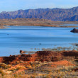 Stock Photo: Lake Mead panorama