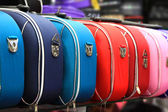 Colorful suitcases — Stock Photo