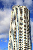 Tall apartment building — Stock Photo