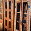 Old cupboards — Stock Photo