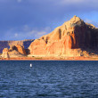 Lake Powell panoramic view — Stock Photo