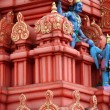 Stock Photo: Hindu temple architecture