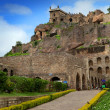 Historic Golconda fort  — Stock Photo
