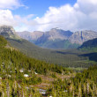 Glacier national park panorama — Stock Photo