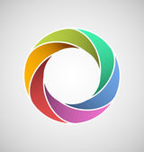 Looped design element — Stock Photo
