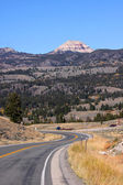 Route 212 Beartooth high way — Zdjęcie stockowe