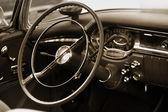 Classic car interiors — Stock Photo