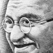 Gandhi on Rupee note — Stockfoto