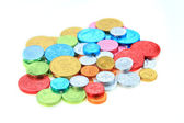 Coin candy — Stock Photo