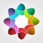 Spiral design element — Stock Photo