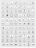 Engineering symbols — Stock Photo