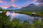 Niższych saint mary jezioro — Zdjęcie stockowe