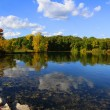 Autumn panoramic landscape — Stock Photo