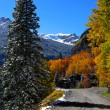Colorado Scenic byway — Stock Photo