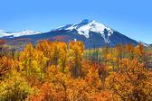 Kebler pass in autumn — Stock Photo