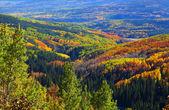 Autumn in Ohio pass, Colorado — Stock Photo
