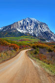 Scenic back road 12 in Colorado — Stock Photo