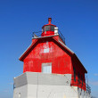 Grand haven Michiglight house — Stock Photo #34698941