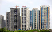 Hyderabad high rise apartments — Stock Photo