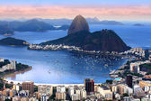 Rio de janeiro, brasilien-landschaft — Stockfoto
