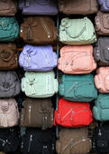彩色手挽袋 — 图库照片
